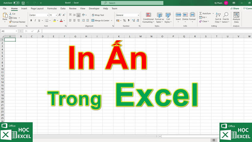 In ấn trong excel